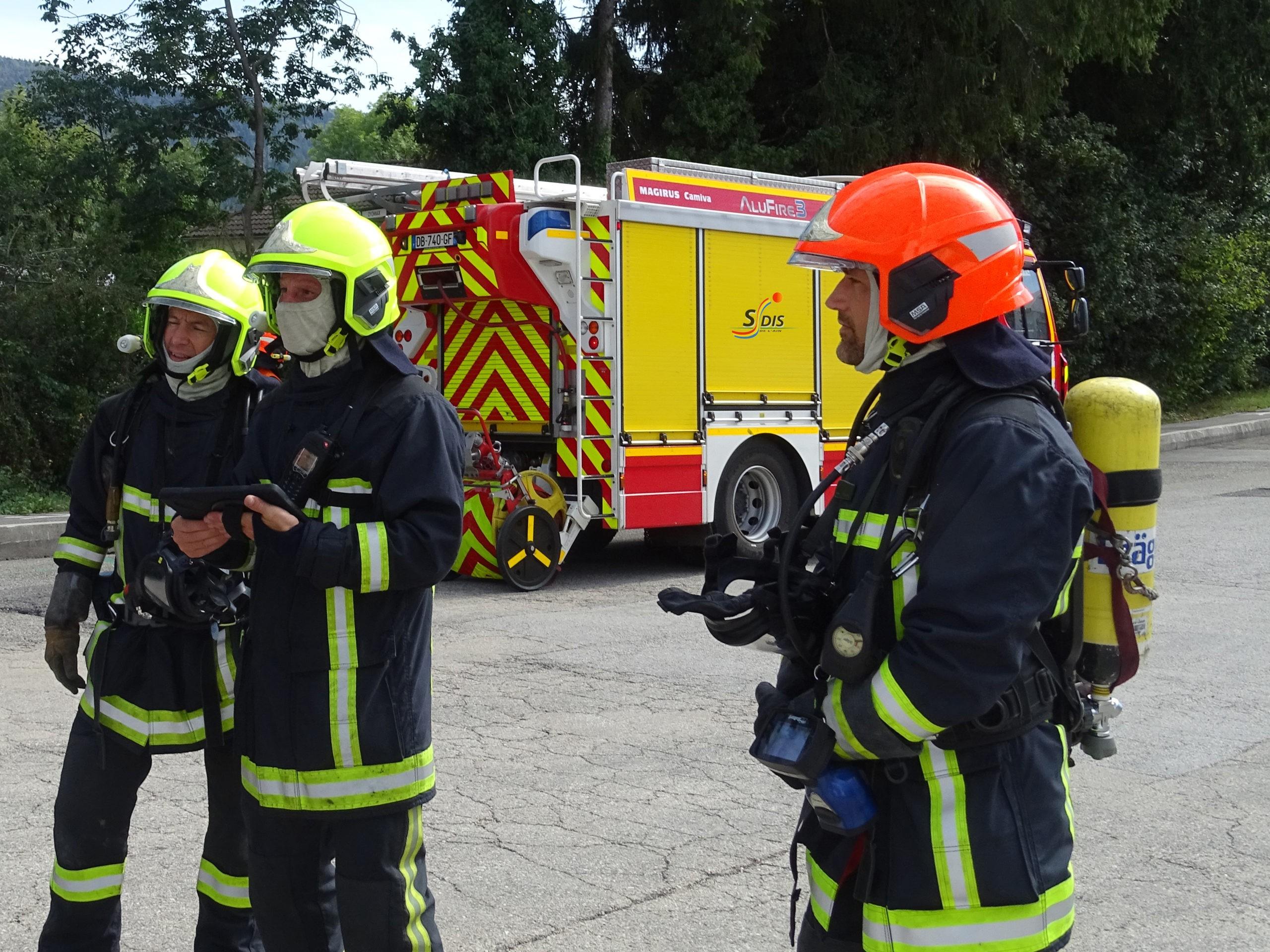 Une application pour sécuriser les interventions des pompiers dans les bâtiments