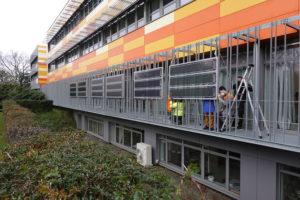 À Nantes, le film photovoltaïqueexpérimenté à grande échelle